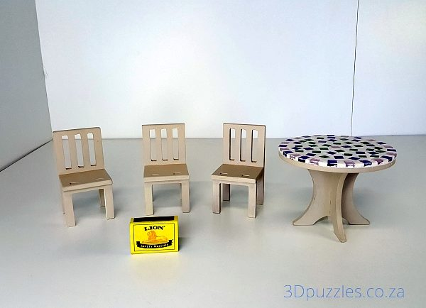 Doll House Table & Chairs